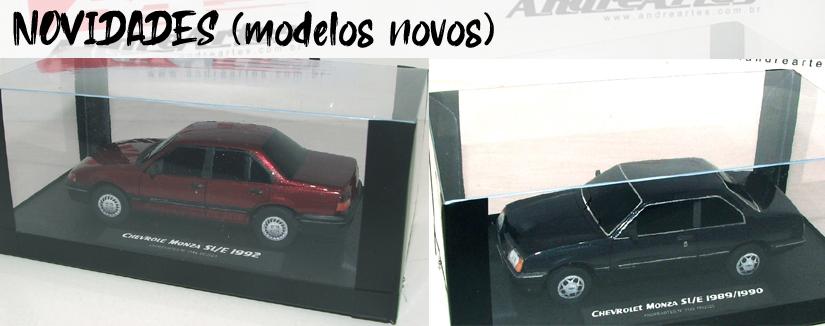 Novidades (modelos novos)