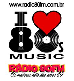Rádio Web que toca musicas da década de 80. Vale a pena ouvir!